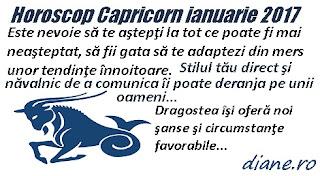 Horoscop ianuarie 2017 Capricorn