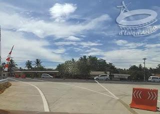 bersiap masuk ke jalan lintas Sumatera