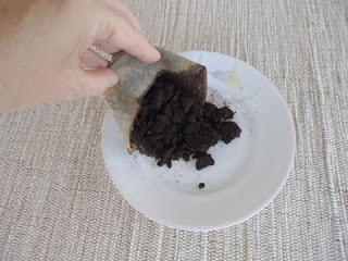 Adubo com borra de café