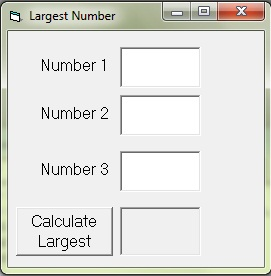 Program to find the largest number among three using if else statements