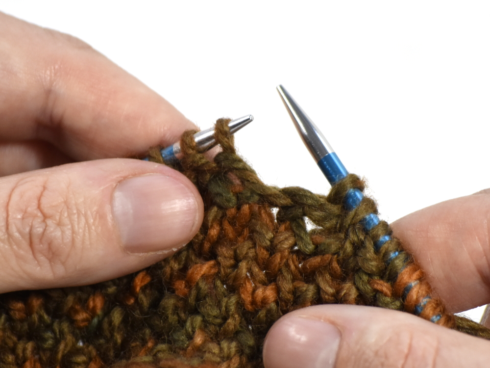Knitters Pride: Tutorial: How to Knit Brioche Into The Row Below