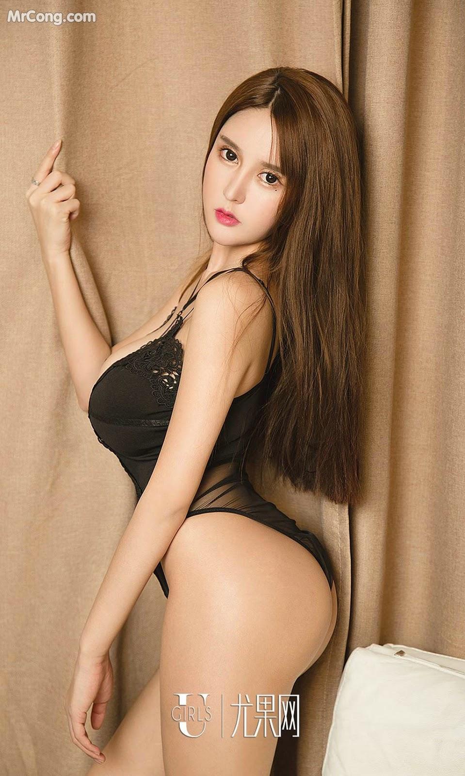 Image UGIRLS-Ai-You-Wu-App-No.1327-Bai-Yi-Han-MrCong.com-015 in post UGIRLS – Ai You Wu App No.1327: Người mẫu Bai Yi Han (白一晗) (35 ảnh)
