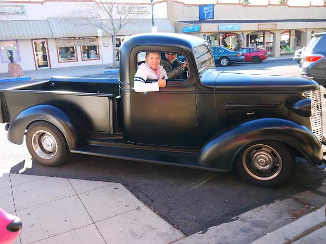 Vintage restored Truck
