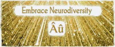 Obrázek s nápisem Přijmi neurodiverzitu