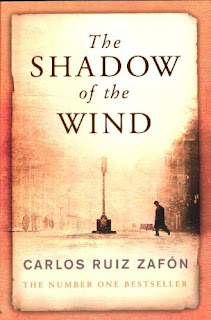 SHADOW OF THE WIND - BOOK COVER