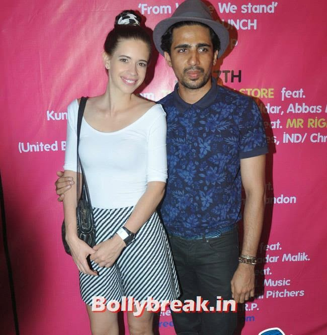 Kalki Koechlin and Gulshan Devaiya, Kalki , Anushka, Ranveer at The Bartender Album Launch