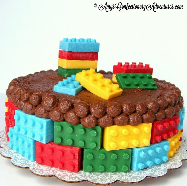 Amy S Confectionery Adventures Lego Cake Peanut Butter Cake