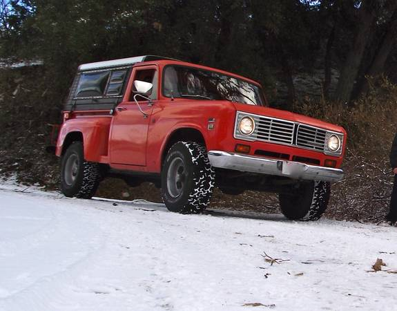 International Harvester 4x4 Stepside Pickup Truck
