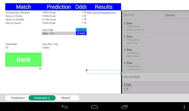 Myfreshblog: Friday Soccer Predictions