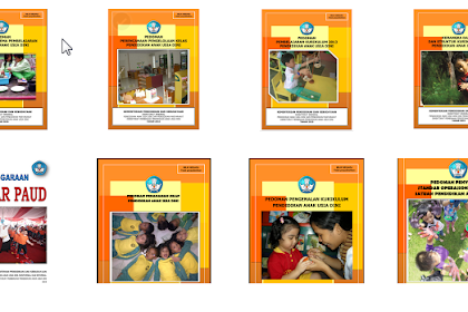 Download Kumpulan Panduan Kurikulum 2013 PAUD-DIKMAS