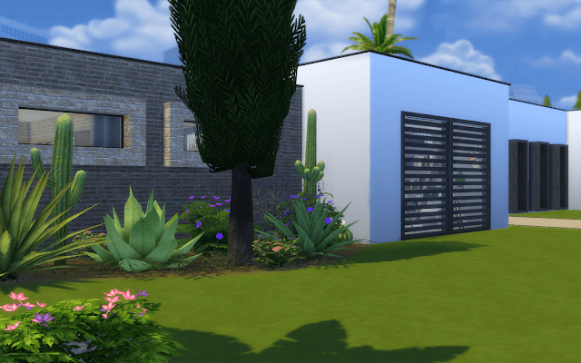 grande maison Sims 4