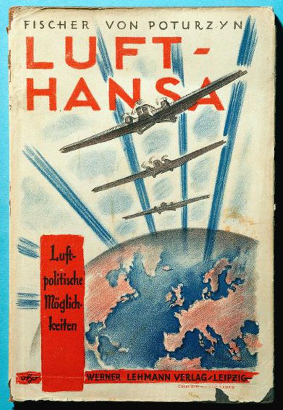 Luft Hansa, book by Fischer von Puturzyn 1925