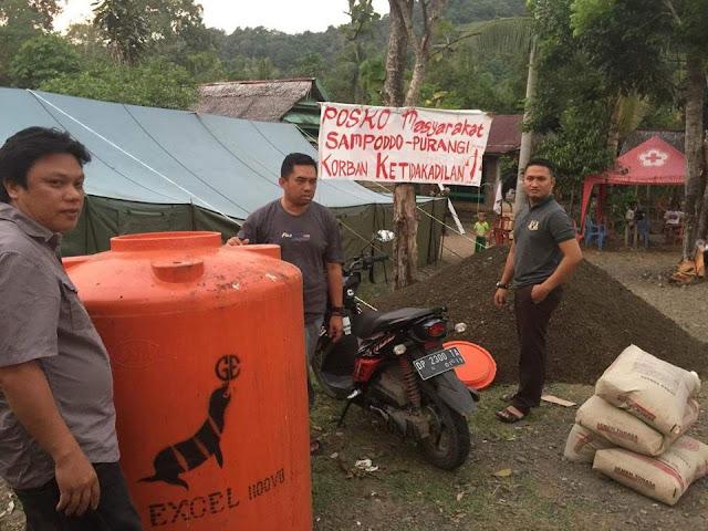 FOTO: RBBS Berikan Bantuan Fasilitas MCK untuk Warga Sampoddo