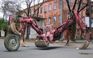 Amazing spider style tractor vehicle wallpapers