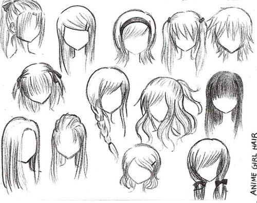 Beauty O'holic: Anime Hair