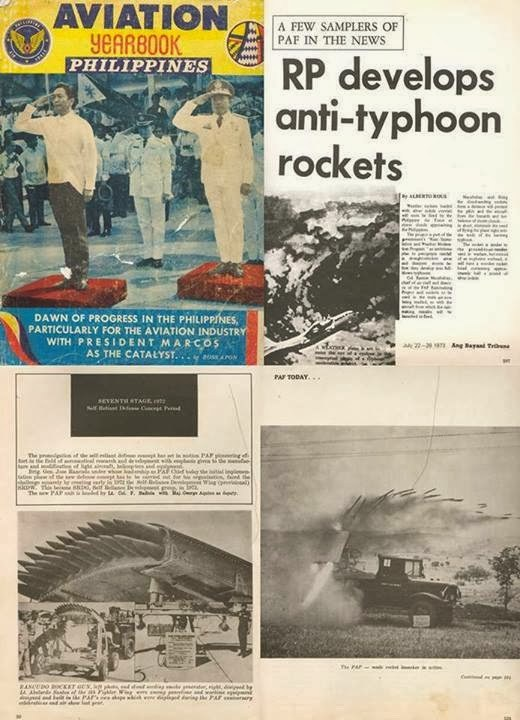 marcos era, anti-typhoon rocket, philippines