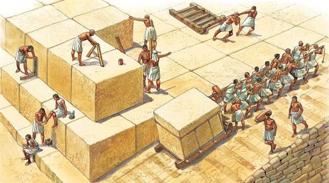Piramid Giza Tidak Dibangun oleh Budak
