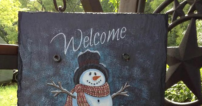 Christmas Welcome Signs
