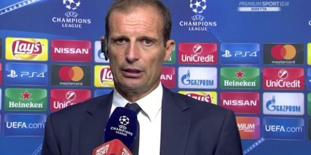 Champions League Juventus interviste post gara Siviglia