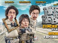 Sinopsis Singkat Lucunya Film Warkop DKI Reborn : Jangkrik Boss!