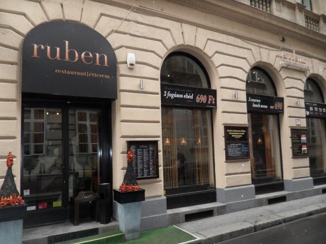 Ristorante Ruben dove mangiare a Budapest