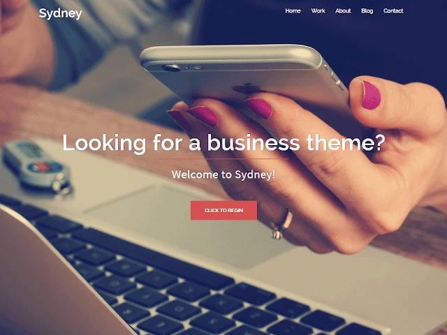 Sydney wordpress free template ads ready and seo ready fast and clean wordpress template free download