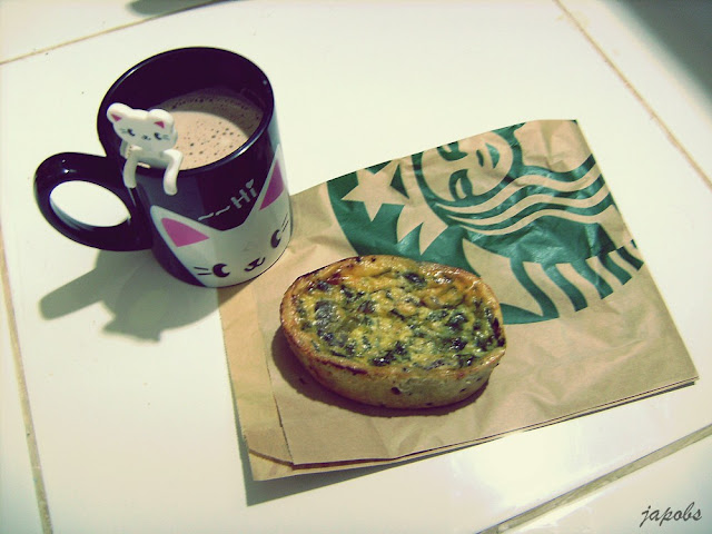 Starbucks Spinach And Mushroom Quiche Big Dreamer