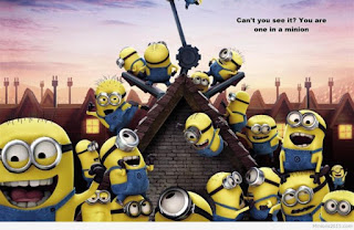 Funny Minions House Building HD Wallpapers