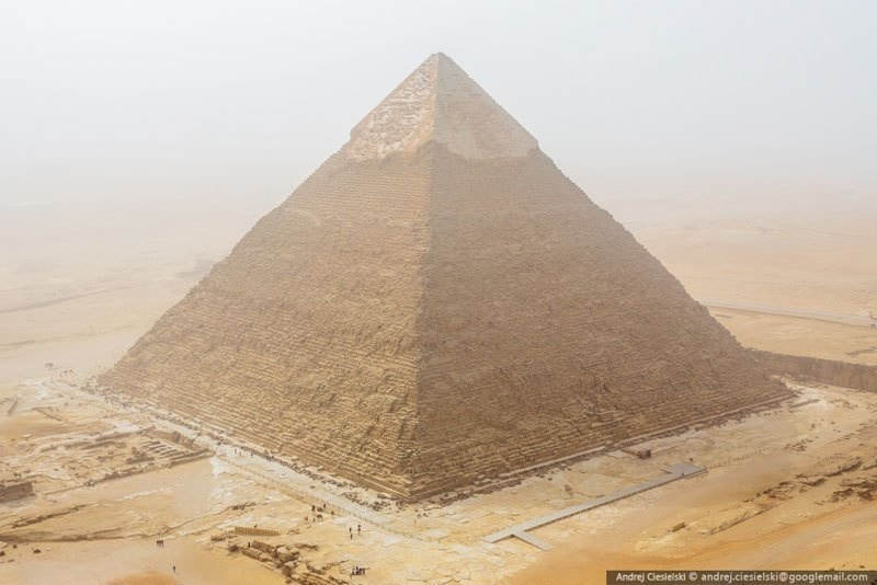Still though, the view was worth it. - He Illegally Climbed One Of The Pyramids… And Filmed The Whole Thing.