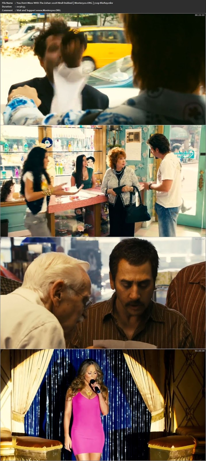 You Dont Mess With The Zohan 2008 Hindi Dubbed Download BluRay 720p at movies500.site