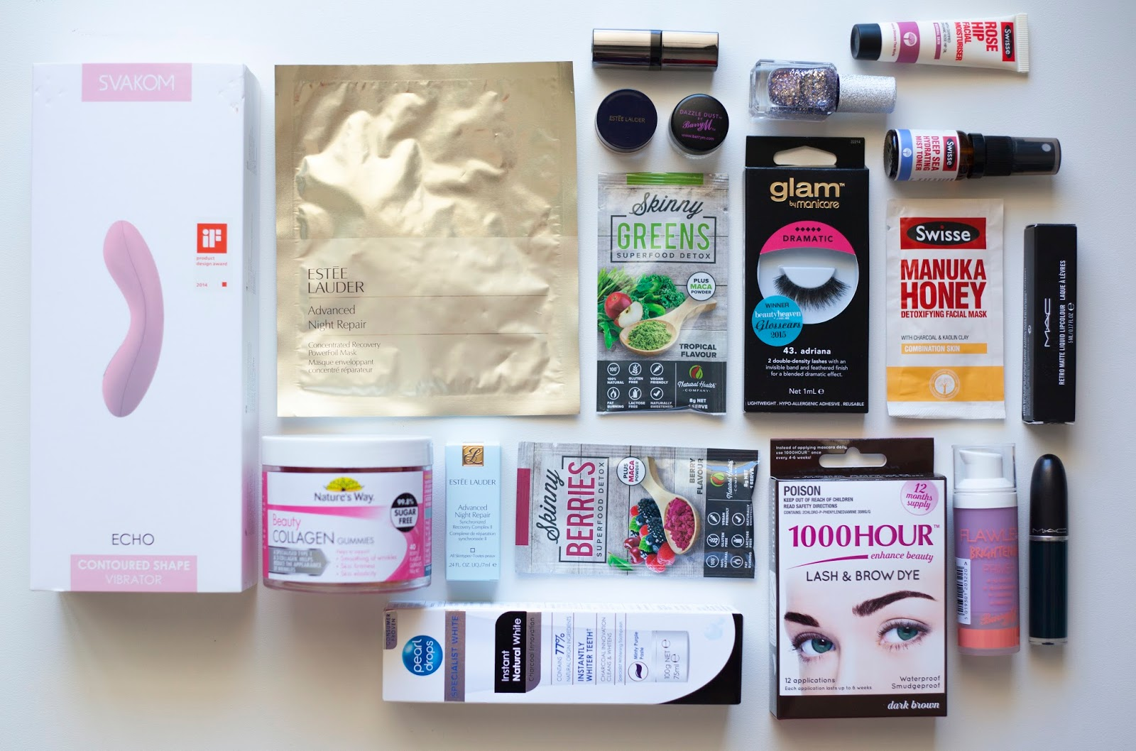 Beautyheaven 10th Birthday Goodie Bag