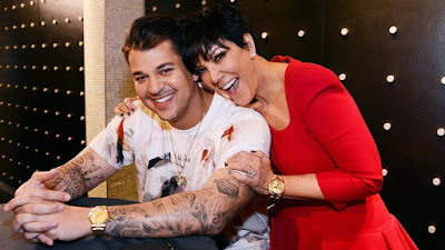 "Kris Jenner,""Rob is doing better,he is working on his health"""