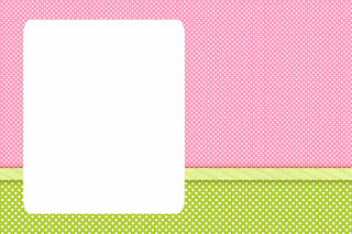 Green, Pink and Polka Dots: Free Printable Quinceañera Party Invitations
