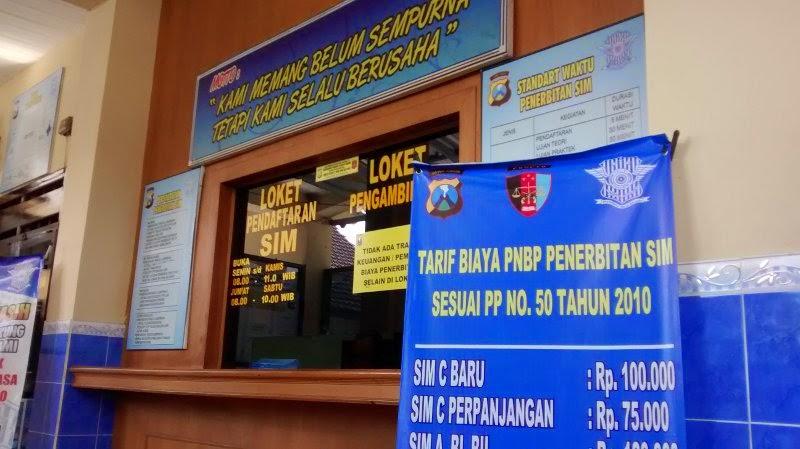 Loket Pendaftaran Permohonan SIm