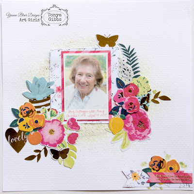 Grace In Her Heart Layout By Tonya Gibbs