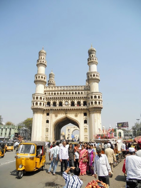 What to see in Hyderabad India: Charminar