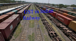 GST : Indian Railway