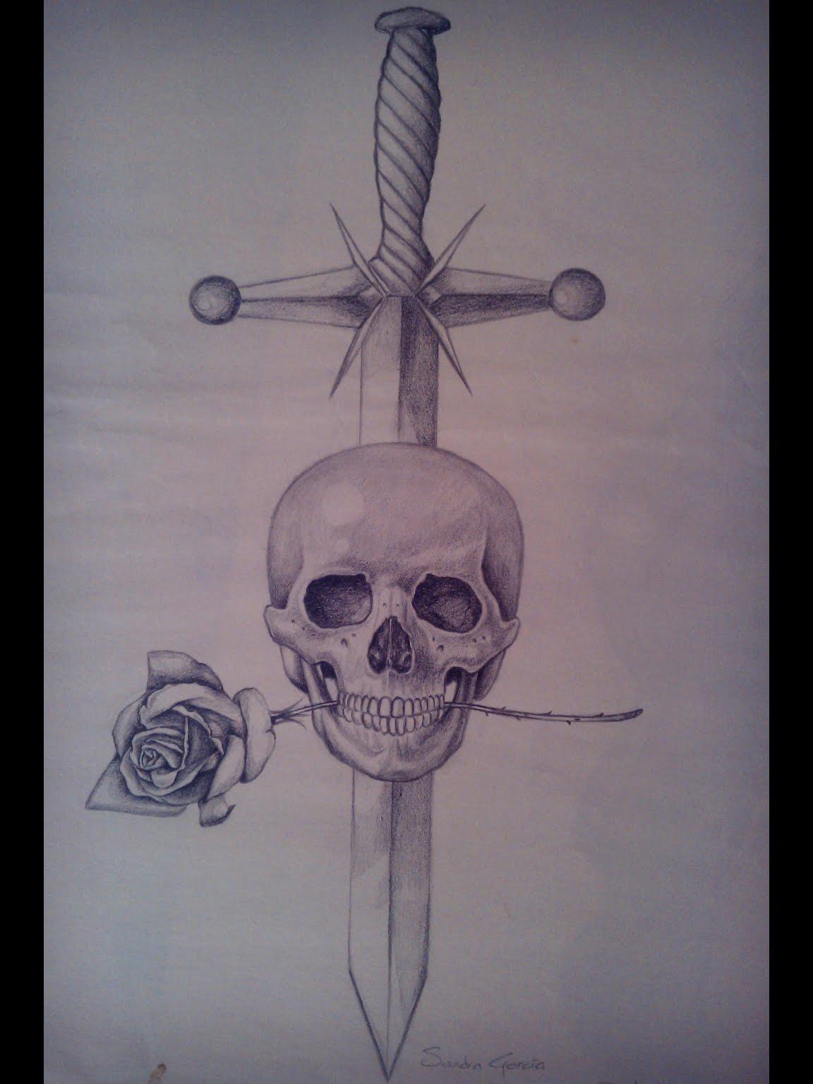 Musaenfuga: DIBUJO A LÁPIZ DE CALAVERA