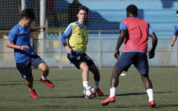 El Málaga aporta un internacional Sub-18 a España