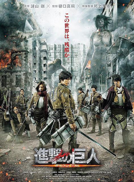 [Movie - Jepang] Attack on Titan (2015) [Leaked HD] [Subtitle indonesia] [3gp mp4 mkv]