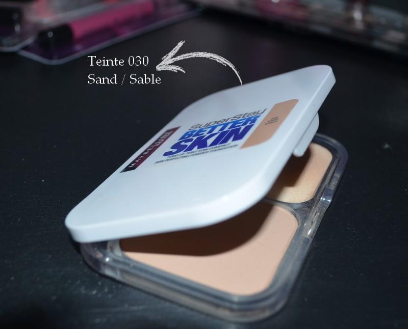 Fond de teint soin compact SuperStay Better Skin