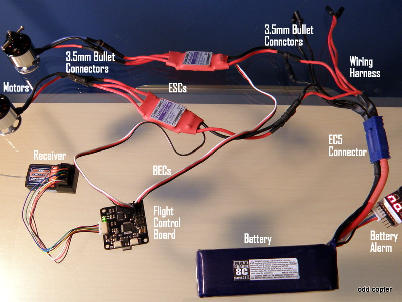 Quadcopter Esc Wiring standard electrical wiring diagram