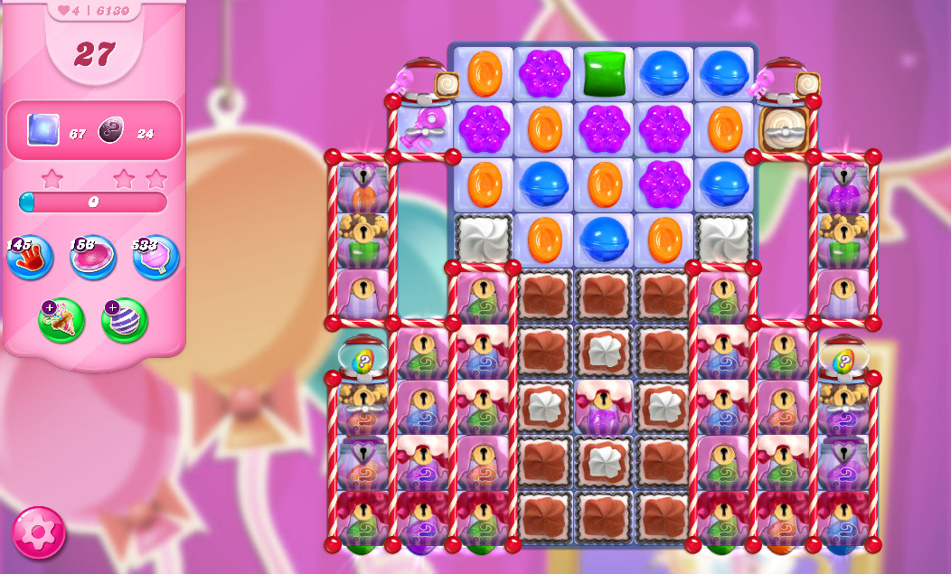 Candy Crush Saga level 6130