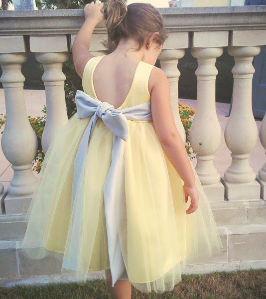 Yellow And Grey Wedding Flowers: Flower Girl Dresses By OliviaKateCouture On Etsy Blog