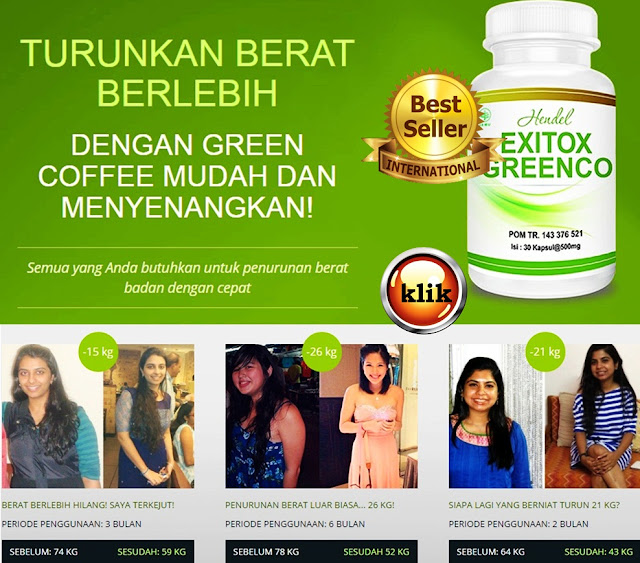 Green Coffee Exitox Greenco