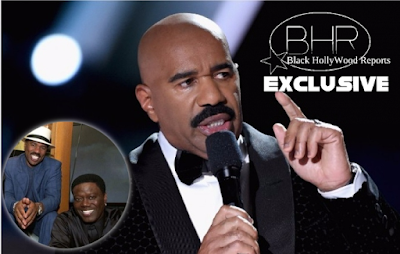 Steve Harvey tears Up While Remembering And Honoring Comedian Bernie Mac