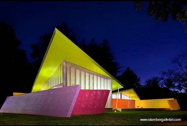 Residencia de diseño original en Norteamérica