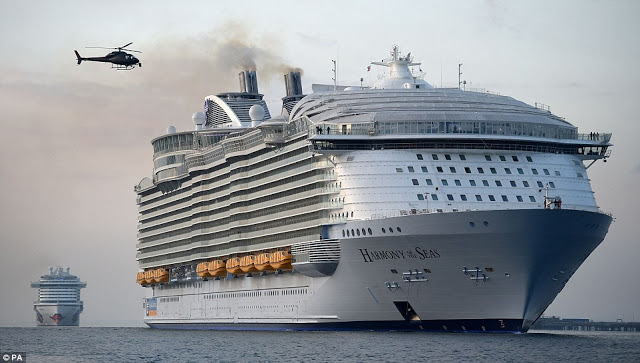 World's biggest cruise ship worth $1bn arrives in Britain