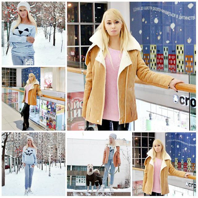 Shopping in ROSEWHOLESALE: Теплая дубленка для зимних прогулок / отзывы