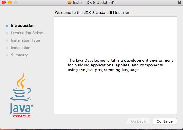 install java machine mac